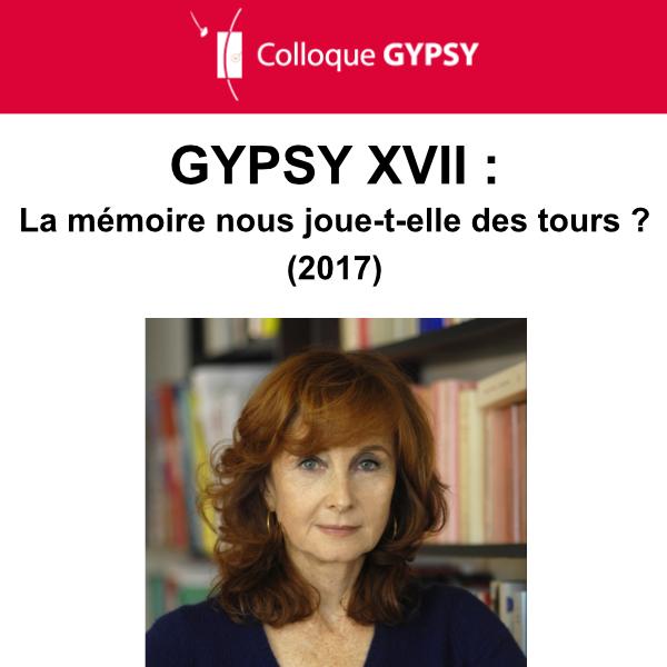 Colloque GYPSY XVII – Décembre 2017 – Ouverture Muriel Flis-Trèves