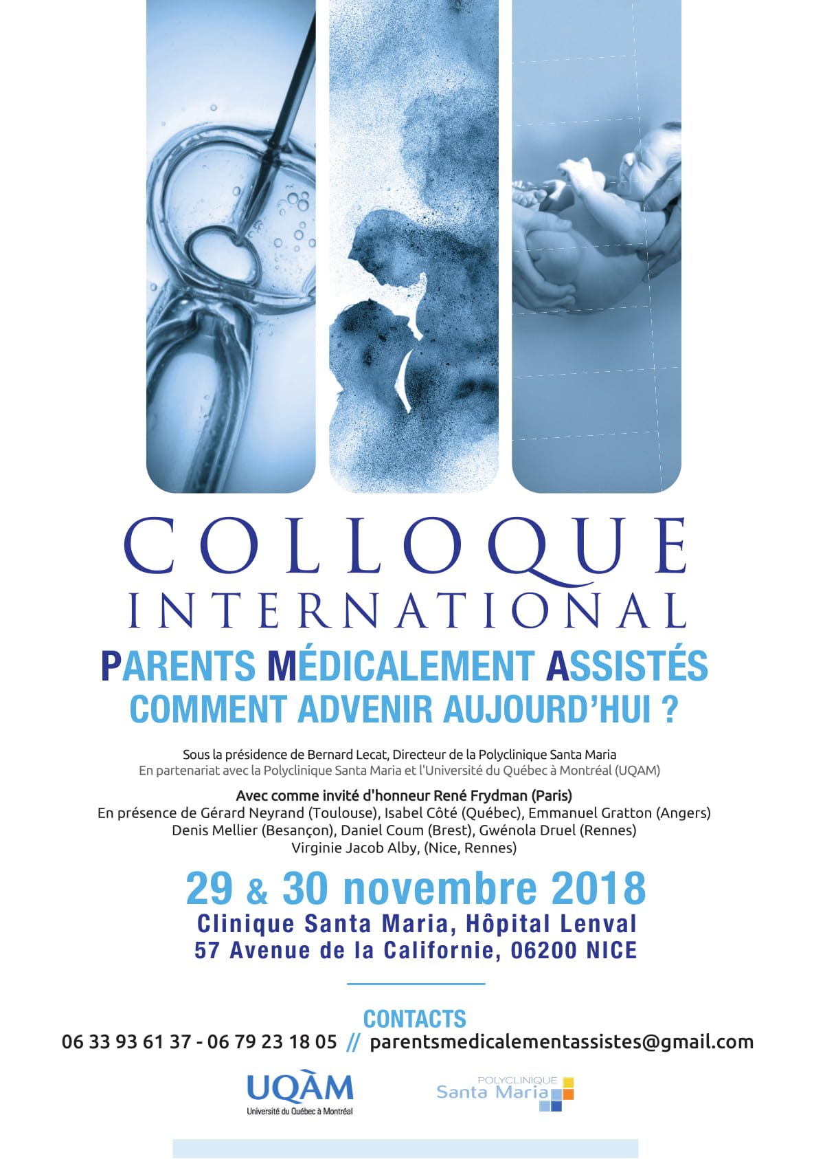 Colloque International PMA