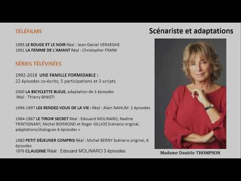 Colloque GYPSY XVIII – Danièle THOMPSON : Échange